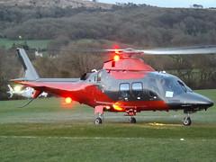 G-PIFZ AgustaWestland AW109SP Helicopter (Saxon Air Ltd) (Aircaft @ Gloucestershire Airport By James) Tags: cheltenham helipad gpifz agustawestland aw109sp helicopter saxon air ltd egbc james lloyds