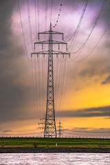 Energy ! (Of Light & Lenses) Tags: carlzeiss energy highvoltage rhine rhein uerdingen lines sky spectacular steel batis28135 zeissbatis