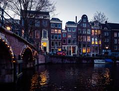 A0153130 (rpajrpaj) Tags: amsterdam city netherlands nederland nederlandvandaag bluehour thebluehour cityscape citylights
