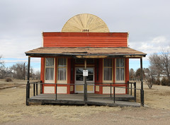 Former saloon (Jeffrey Beall) Tags: builtin1886 vilas colorado bacacounty saloons museums