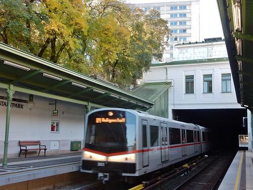 Vienna Metro, Stadtpark Station