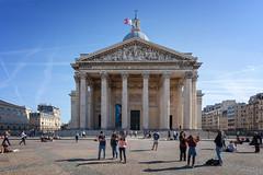 Panthéon (Jack Landau) Tags: paris france architecture building city urban europe eu blue sky history heritage old canon 5d jack landau pantheon latin quarter