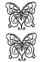 Simple Butterflies T (TattooForAWeek) Tags: simple butterflies t tattooforaweek temporary tattoos wicker furniture paradise outdoor