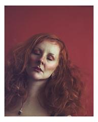 Self Portrait (lucy jane purrington art) Tags: selfie selfportrait ginger redhead expressive emotional red mentalhealth