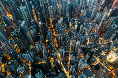 Top view of residential at central district in Hong Kong China at night (MongkolChuewong) Tags: abandon above abstract aerial aerialview air aircraft airplane apartment architecture asia building china chinese city cityscape condo condominium dense dirty downtown drone dusk evening exterior facade flying home hong hongkong housing kong life living modern neighborhood night old perspective poor poverty recession resident residential retro slum tall topview urban hk