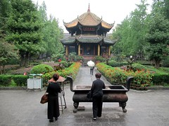 Qingyang Gong Temple (D-Stanley) Tags: qingyanggong chengdu china laozi greengoat
