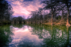 Guadalupe Sunset (hightoneguy) Tags: texashillcountry guadaluperiver rivers nature cypress