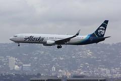 B737 N494AS Los Angeles 21.03.19 (jonf45 - 5 million views -Thank you) Tags: airliner civil aircraft jet plane flight aviation lax los angeles international airport b737 737 alaska airlines boeing 737990w n494as