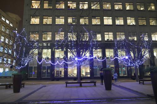 'Blue Neuron' by Zac Greening, Winter Lights 2019