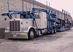 Peterbilt: Virginia Trans #91969 (PAcarhauler) Tags: pete peterbilt carcarrier semi truck trailer