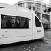 Big Slabs of Siemens S70 in Service of Trimet MAX Passing By in Monochrome