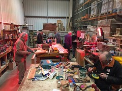 Blidworth Men in Sheds (NSDC Photo store) Tags: men sheds woodwork wood turning tools community mental health social arts crafts