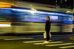 I missed the bus (Capitancapitan) Tags: mta bus train city street walk lights nyc new york manhattan bronx neury luciano urim y tumim colors merengue