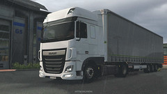 New truck (black_moloko) Tags: ets2 eurotrucksimulator2 truck daf xf106 poland winter