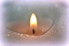 Candlelit Bubbles (Ronnie Gaye) Tags: bubbles bubblebath candle flame heart