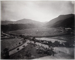 Hotz collection: Hong Kong Happy Valley Race Course, ca. 1870 (Charles in Shanghai) Tags: charles shanghai albert hotz albertus paulus hermanus holland china trading company handelscompagnie rotterdam universiteit leiden university bibliotheek bijzondere collecties special collections early photography libslibs librariesandlibrarians hchc haagsche courant nrc delphernl perzië john thomson london mattie boom rijksmuseum everyoneaphotographer exhibition gwulo bw blackandwhite monochrome people chinese portrait hong kong hongkong race course happy valley grand prix