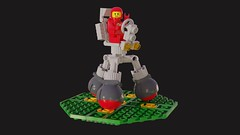 Febrovery 2019 03 (David Roberts 01341) Tags: lego ldd mecabricks classicspace redspaceman minigifure febrovery render toy scifi rover vehicle