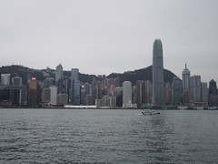 (procrast8) Tags: hong kong china island victoria harbour bay kowloon ifc international finance centre bank tower