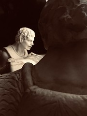 Angst (caitlinbenge) Tags: portrait sadness anger angst frustration emotion statues statuephotography statue