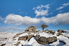 Snowdle Tor - D A R T M O O R (Twogiantscoops) Tags: dartmoor devon seasons winter snow snowscene snowscape scoopsimages canon saddle tor treescape chrismarshallsimages 1635mm iplymouth manfrotto 5dmk2 cloudformations clouds