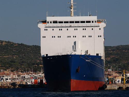 RoRo vessel 'Ulusoy 7', Çeşme, Turkey - a photo on Flickriver