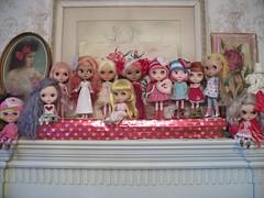 Valentine's Day 2019 (simplychictiques) Tags: blythedolls ooakcustomblythe hobby collection blythe valentinesday2019 dolls toy bigeyeddolls variouscustomizers heartday customblythes faceup dollphotography spokanewashington happyvalentinesday