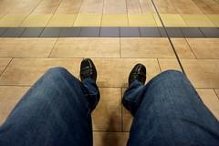 Selfie (hermann.kl) Tags: selfie bluejeans köln cologne ubahnstation ebertplatz metrostation