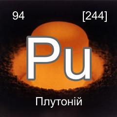 Хімічні елементи Плутоній Pu InterNetri Ukraine
