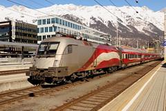 ÖBB 1116 249-4 RailJet Ski-WM, Innsbruck Hbf (TaurusES64U4) Tags: railjet taurus 1116 es64u2