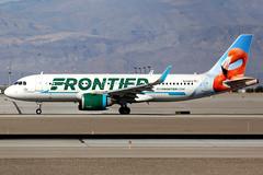 Frontier Airlines | Airbus A320-200N | N308FR | Las Vegas McCarran (Dennis HKG) Tags: aircraft airplane airport plane planespotting canon 7d 100400 lasvegas mccarran klas las frontier frontierairlines fft f9 airbus a320 airbusa320 a320neo airbusa320neo a20n sharklets n308fr