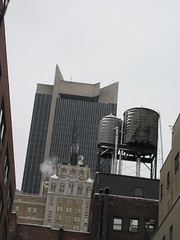 1515 Broadway Office Building NYC 2749 (Brechtbug) Tags: the former milford plaza hotel now row nyc front 1515 broadway office building with minskoff theatre lobby towering back 45th street midtown 2019 new york city march 03022019 theater looking east