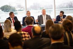 Canada's Premiers/les premiers ministres des provinces et territoires participate in a POLITICO Pro Canada media panel event/participent à un panel des médias de POLITICO Pro Canada.