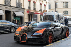 Bugatti Veyron 16.4 Grand Sport Vitesse WRC (Alexandre Prevot) Tags: paris voiture european cars automotive automobile exotics exotic supercars supercar worldcars france 75 75000 auto car berline sport route transport déplacement parking luxe grandestsupercars ges worldrecordcaredition worldrecordcar
