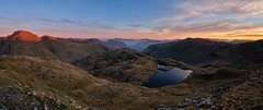 First Light Over Great Gable, The Lake District (dandraw) Tags: thelakes thelakedistrict cumbria outdoors adventure wildcamping wildcamp sprinklingtarn mountains sunrise skiddaw blencathra landscape goldenhour fuji fujifilm xt3