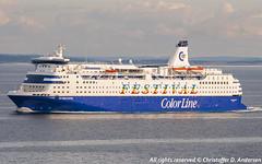 Color Festival (370) (Christoffer Andersen) Tags: colorline colorfestival cruiseferry danskebåten oslofjorden passengership passengervessel shipspotting
