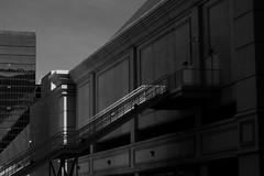 Casino Stairs v2 (Gene Ellison) Tags: building stairs long doors city blackwhitephotos bw fijifilm