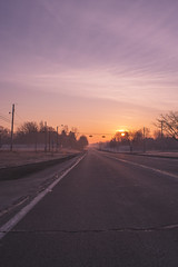 Morning Colors (IAmTheSoundman) Tags: ohio urbanexploring urbex gas station morning sunrise fuel middleofnowhwere jakebarshick takumar sony a99 m42 manualfocus vintagelens