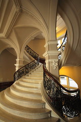 Baumwollbörse Bremen (Elbmaedchen) Tags: baumwollbörse bremen treppenhaus staircase stairwell stufen steps roundandround interior architecture escaliers escaleras