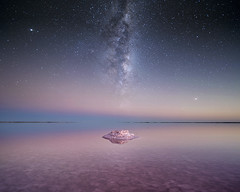 Sodium (Jay Daley) Tags: astro milky way milkyway universe stars salt lake australia remote outback night nightsky nightphotography long exposure photography