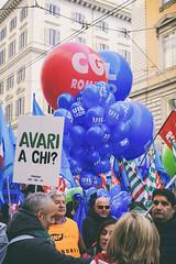 DSCF7227 (Alessandro Gaziano) Tags: foto fotografia alessandrogaziano colori colors people italia italy manifestazione visioni roma gente manifestare bandiere reportage