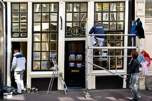Men At Work - Wolvenstraat Amsterdam