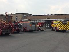 Scania Angloco Heavy Rescue pump (petros.williams@btinternet.com) Tags: angloco essexfire grays dennisrapier turntableladder heavyrescuepump