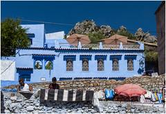 502- MERCADO EN LA CALLE - XAUEN - MARRUECOS - (--MARCO POLO--) Tags: calles ciudades rincones marruecos exotismo curiosidades arquitectura edificios