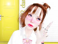 [ :: JesyDream :: ] Cherry Blossom Makeup & Anita Power Lipsticks (❀✿ Kate ✿❀ !cream spaghetti hair!) Tags: jesydream salesevent applier makeup kawaii