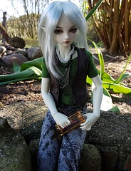 (claudine6677) Tags: bjd msd ball jointed doll asian dolls fairyland mnf minifee karsh elf elfe puppe sammlerpuppe