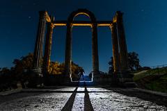 El Templo III (Yorch Seif) Tags: noche night nocturna nocturnal lightpainting longexposure largaexposicion estrellas stars d7500 tokina1116