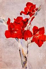 Red Gladioli (Thomas Hawk) Tags: america mia minneapolis minneapolisinstituteofart minneapolisinstituteofarts minnesota museum pietmondrian redgladioli usa unitedstates unitedstatesofamerica painting us fav10
