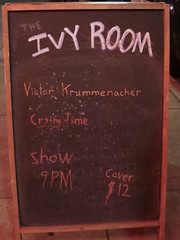 Ivy Room signboard (michaelz1) Tags: livemusic ivyroom albany signboard victorkrummenacher