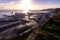 Dover Harbour (BeerAndLoathing) Tags: 2018 december englandtrip england sunset uktrip whitecliffs canon kent sea 77d trip winter harbour winter2018 uk dover englishchannel canoneos77d sigma18300mm