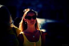 Along comes Mary (Loran de Cevinne) Tags: lorandecevinne portrait pentax people personnage personne elle she woman face clairobscur reflets contrejour